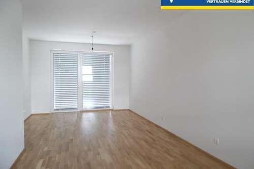 moderne 2-Zimmer-Wohnung mit Balkon und Tiefgaragenplatz