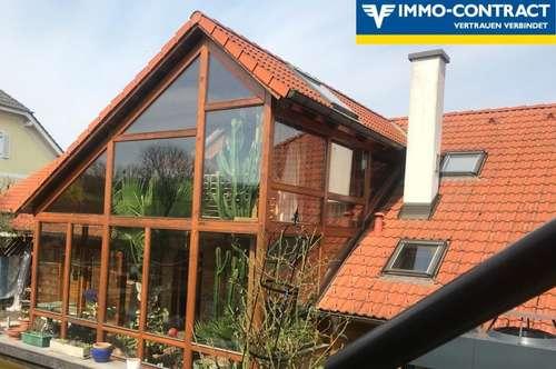 Villa mit Wintergarten und Schwimmteich  40 min von Wien