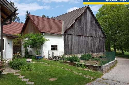 Bauernhof in Streusiedlungslage (Einzellagecharakter), land- u. forstwirtschaftlich arrondierter Grund