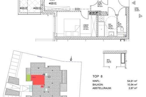 Gefördertes Wohnen für Jung & Alt. Jetzt EINZIEHEN, Haus 1,Top 8 (provisionsfrei)