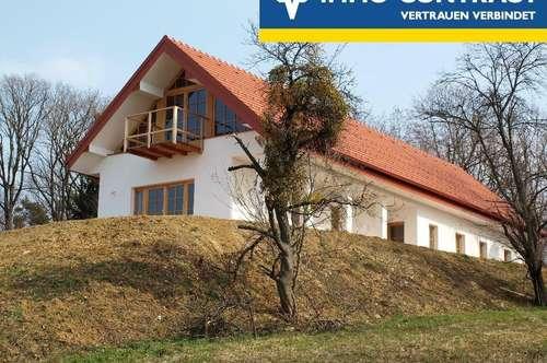 Fernsicht über das schöne Südburgenland und ein Traumhaus - Ausbaufähig!