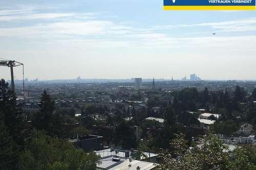Villa am Wilhelminenberg mit Blick über Wien