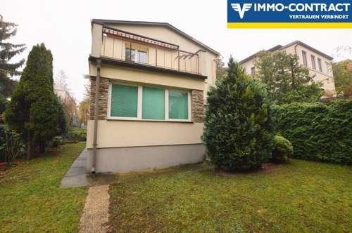 Haus mit 2 Wohneinheiten und Garten   Erholungsgebiet Wienerberg