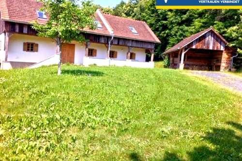 Bilderbuchbauernhaus im sonnigen Südburgenland