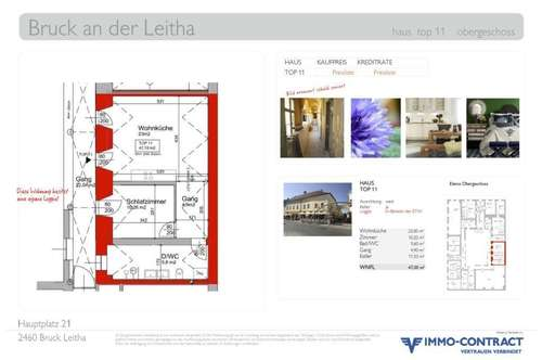 Klein & Fein mit großzügiger LOGGIA. Im Detail liegt die Schönheit. Generalsaniertes Stadthaus, Top 11