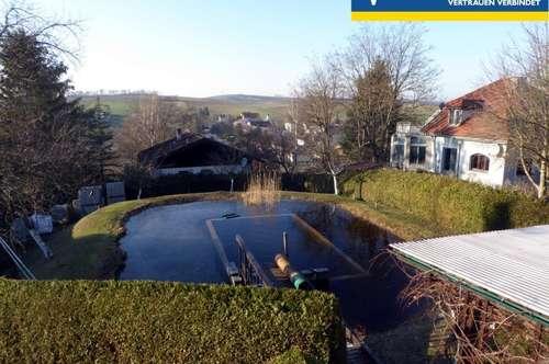 Großzügiges Anwesen mit eigenem Schwimmteich