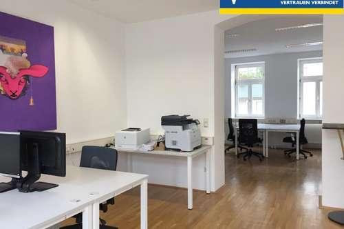 Leitermayergasse: schickes Büro auf 2 Etagen