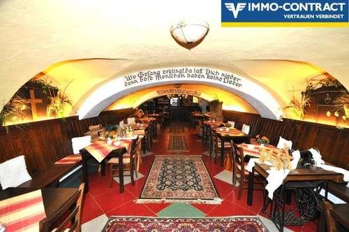 Ehemals sehr beliebter Gewölbekeller und Heuriger mit historischem, idyllischem Flair - Mit mehreren Wohnmöglichkeiten