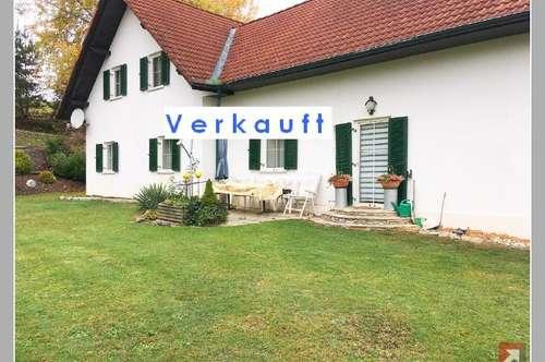 Verkauft: Ehemaliger Bauernhof fast 4 ha in absoluter Allein- u. Ruhe-Lage 39 km Graz - 1844