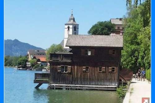 mit Bootshaus am Wolfgangsee: Große herrschaftliche Liegenschaft - 1834
