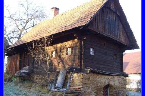 Steirische Toskana: Keusche in Traumlage mit 1000 qm Weingarten - 1768