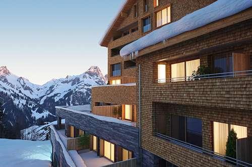 Neubauferienwohnung mit Zweitwohnsitzwidmung am Arlberg A|3|35