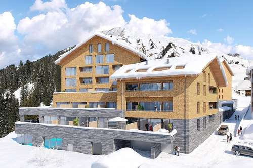 Am Arlberg - Ferienwohnung mit Eigennutzung und Rendite - A 4 38