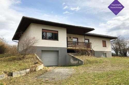 Großzügiges Einfamilienhaus in fantastischer Aussichtslage in Burgauberg …!