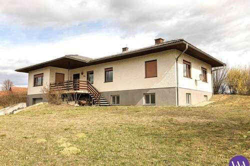 Einfamilienhaus mit atemberaubenden Panoramablick in Burgauberg ...!