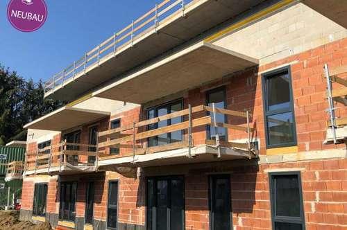 Neubau-Mietwohnung mit Balkon direkt in Feldbach ...!