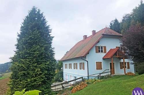 Einfamilienhaus mit traumhaftem Ausblick Nähe Studenzen ...!