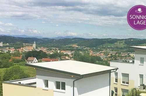 Traumhafte Maisonetten-Wohnung in atemberaubender Aussichtslage in Feldbach ...!