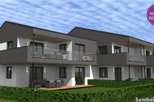 Provisionsfrei! Stilvolle Neubauwohnung mit Terrasse und großzügiger Grünfläche!