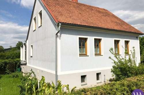 Einfamilienhaus mit sonnigen Garten nähe Fürstenfeld ...!