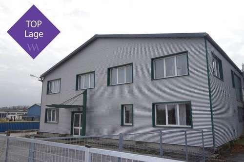 Großzügige Lager- und Büroflächen auf ca. 6.000 m² großem Grundstück!