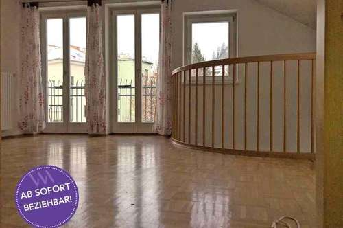 Sonnige Maisonetten- Mietwohnung mit Balkon in Graz-Lend ...!