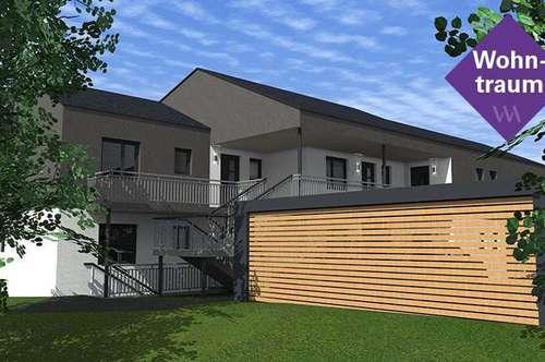 Großzügige Neubauwohnung mit 4 Zimmern, einer herrlichen Terrasse und einem Garten!