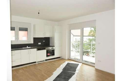 ERSTBEZUG: Moderne 3-Zi. -Wohnung mit Balkon im beliebten Wohnbezirk Liebenau