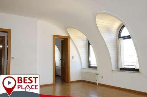 2-Zi-Wohnung im obersten Geschoss - Klagenfurt Stadtzentrum