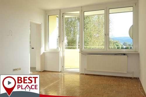 RESERVIERT: Helle 3-Zimmer-Wohnung mit Südbalkon und Aussicht