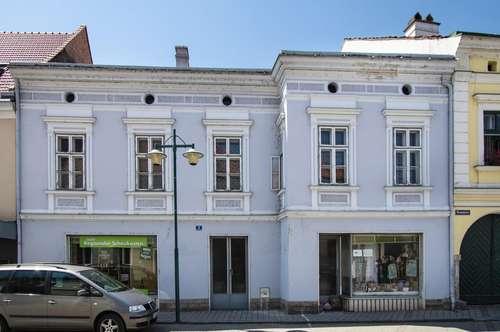 Historisches Stadthaus mit Garten im Zentrum von Traismauer