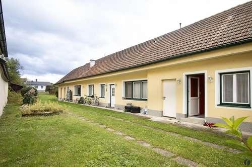 Bauernhaus auf schönem Grundstück