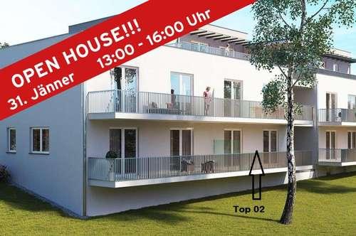 Geförderte 2-Zimmer Neubau Wohnung Nähe LKH Graz!