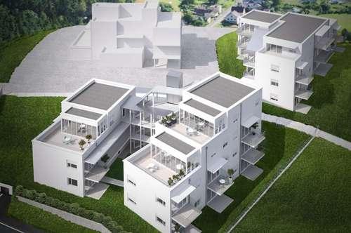 Perfekte Raumaufteilung: leistbare 3-Zi-Erstbezugswohnung auf der Laßnitzhöhe!