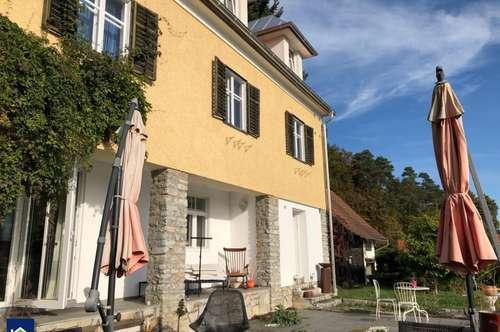 Villa in wundervollem Garten mit Biotop und eigener Quelle!