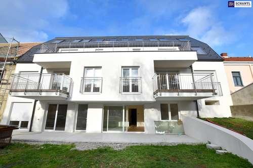GROSSZÜGIG LEBEN! Extravagante Dachgeschosswohnung mit traumhafter Terrasse! Erstbezug!!