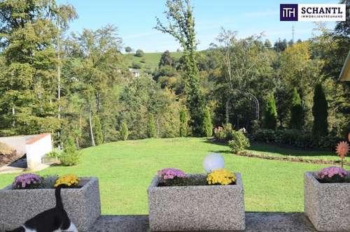 ITH NATUR PUR! Traumhaftes Einfamilienhaus + Nebengebäude + Absolute Ruhelage + Sonnenhang + Panoramablick + Biotop + Kachelofen!