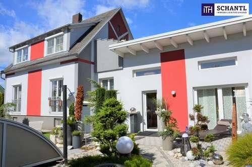 ITH: PERFEKT! Idyllische STADTVILLA! + Hochwertige Ausstattung + Riesiger Pool mit Überdachung + Uneinsehbarer Innenhof + Zentrumslage!