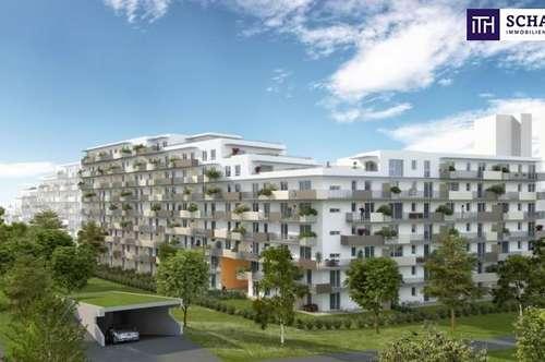 ITH: FANTASTISCH! ERSTBEZUGS-BALKON-WOHNUNG! Designerküche + Großer Balkon + Tiefgaragenplatz + Provisionsfrei für den Käufer!