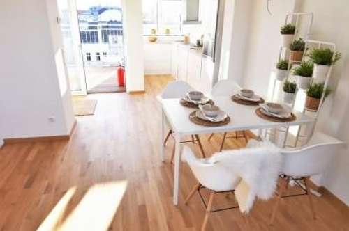 Stylisch Wohnen am Puls der Stadt mit Blick über Wien! Wunderschönes und voll saniertes Altbauhaus mit moderner Architektur! WOW-Effekt!
