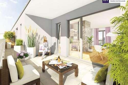 ITH HIGHLIGHT mit Aussicht ! 23 m² SONNENTERRASSE, PROVISIONSFREI in TOP LAGE! ANLEGERKONZEPT, FINANZIERUNGSBERATUNG