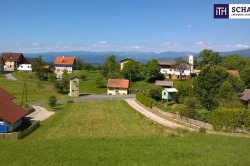 Fernblick auf die KORALM einfach TRAUMHAFT! Grundstück in stimmungsvoller Südwestausrichtung für Ihr Eigenheim in der Weststeiermark!