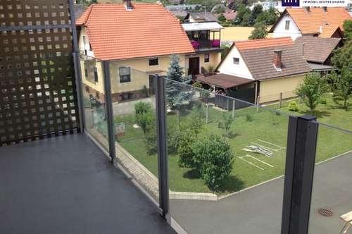 ITH BESSER GEHT NICHT!, Top MW, ca. 50 m² mit großem Balkon und Tiefgarage, im Zentrum von Seiersberg
