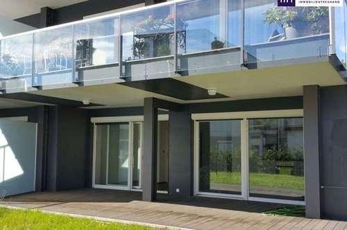 ITH MEIN KLEINER WOHNTRAUM! LICHTDURCHFLUTETE GARTENWOHNUNG ca. 45 m² mit schönen EIGENGARTEN im ZENTRUM von FELDBACH