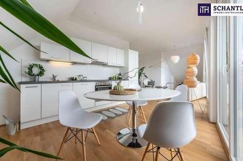 FANTASTISCHE Terrassen-Wohnung! Zwei-Zimmer - Zwei Terrassen - Optimierter Grundriss und PROVISIONSFREI!