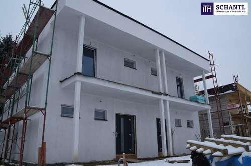 KOFFER PACKEN UND EINZIEHEN! Moderne Doppelhaushälfte im Bezirk Deutschlandsberg + PROVISIONSFREI! ++ ERSTBEZUG +++Wärmepumpe mit KÜHLFUNKTION