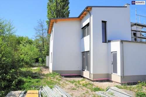Projekt Mühlgarten: Doppelhaushälfte mit perfekter Raumaufteilung auf Eigengrund am Wasser in Wien-Nähe!