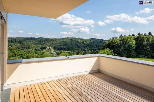 LUXUS PUR! PROVISIONSFREIES Terrassenhaus mit absoluten Panoramablick zu verkaufen! Sensationelle Neubauwohnanlage mitten im Grünen!