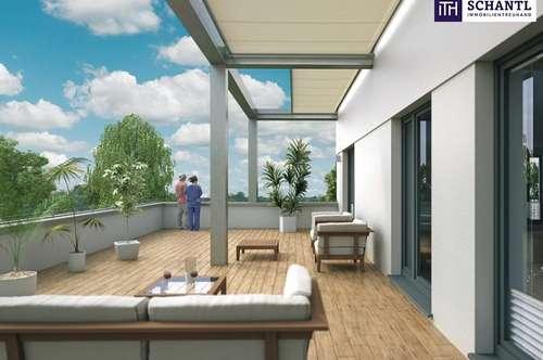 PROVISONSFREI ! TERRASSEN-Erstbezugswohnung mit 2 Zimmern in einer kleinen Wohnhausanlage in ANDRITZ