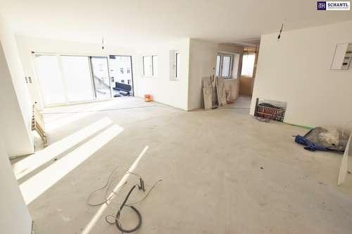 Wohnen mit WOW-Effekt! High Five in Margareten! Ab ins Dachgeschoss + Bestausstattung + Hofseitige Terrasse + Ideale Raumaufteilung!